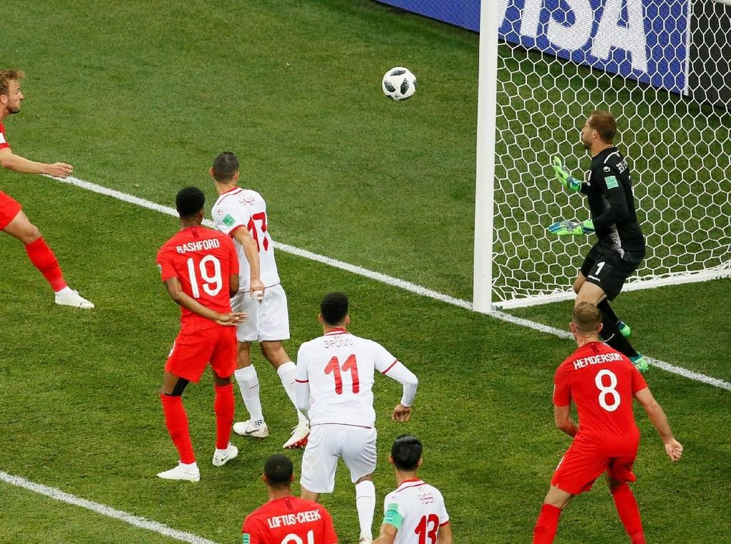 Kenapa Inggris Jago Bikin Gol dari Bola Mati? Ini Kata Welbeck