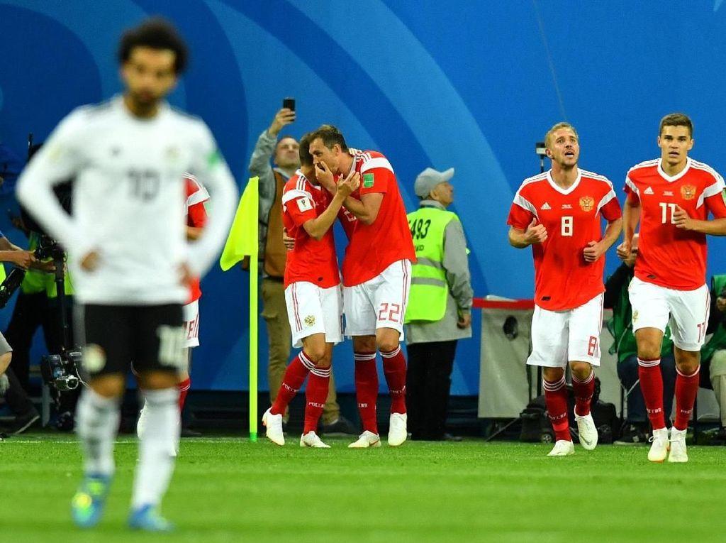Hajar Mesir 3-1, Rusia Berpeluang Lolos ke 16 Besar