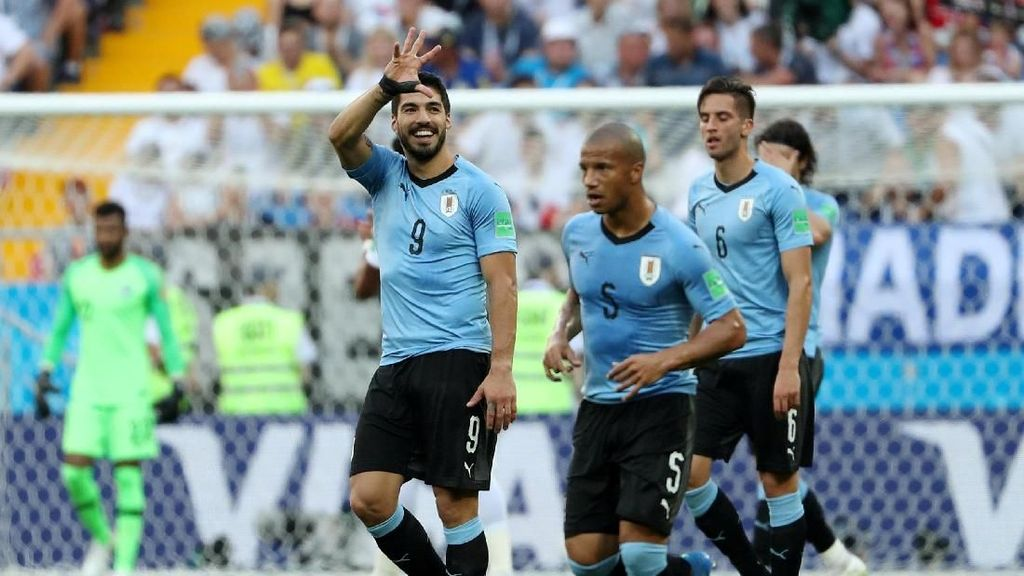 Video Highlights Babak I Uruguay Vs Arab Saudi
