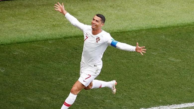 Rekor Baru Ronaldo: Topskorer Eropa di Laga Internasional