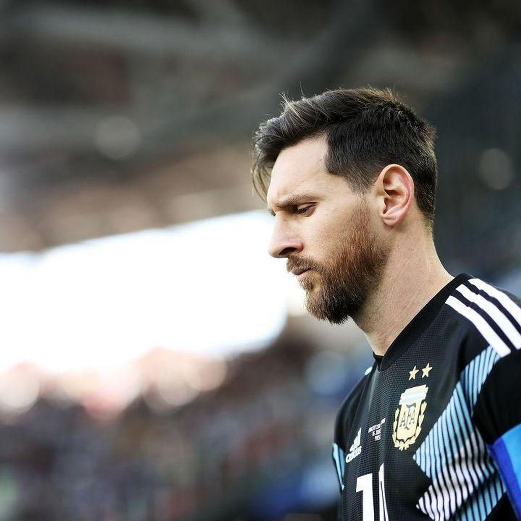Messi Menderita dan Menangis untuk Argentina