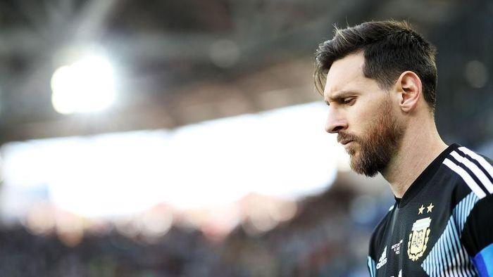 Lionel Messi dikritik setelah tampil buruk saat Argentina diimbangi Islandia 1-1. (Foto: Ryan Pierse/Getty Images)