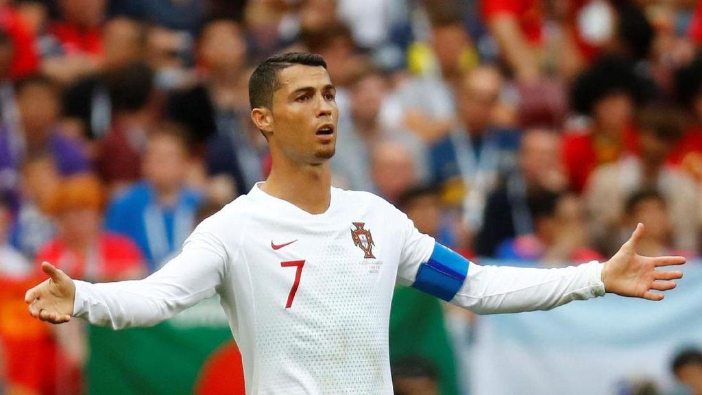Ronaldo Bikin Gol, Portugal Ungguli Maroko di Paruh Babak