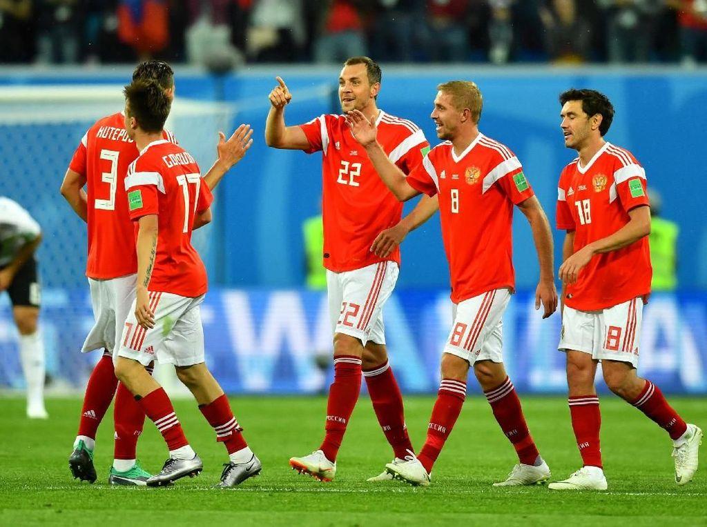 Kroasia: Rusia Ada di Antara Delapan Tim Terbaik Dunia