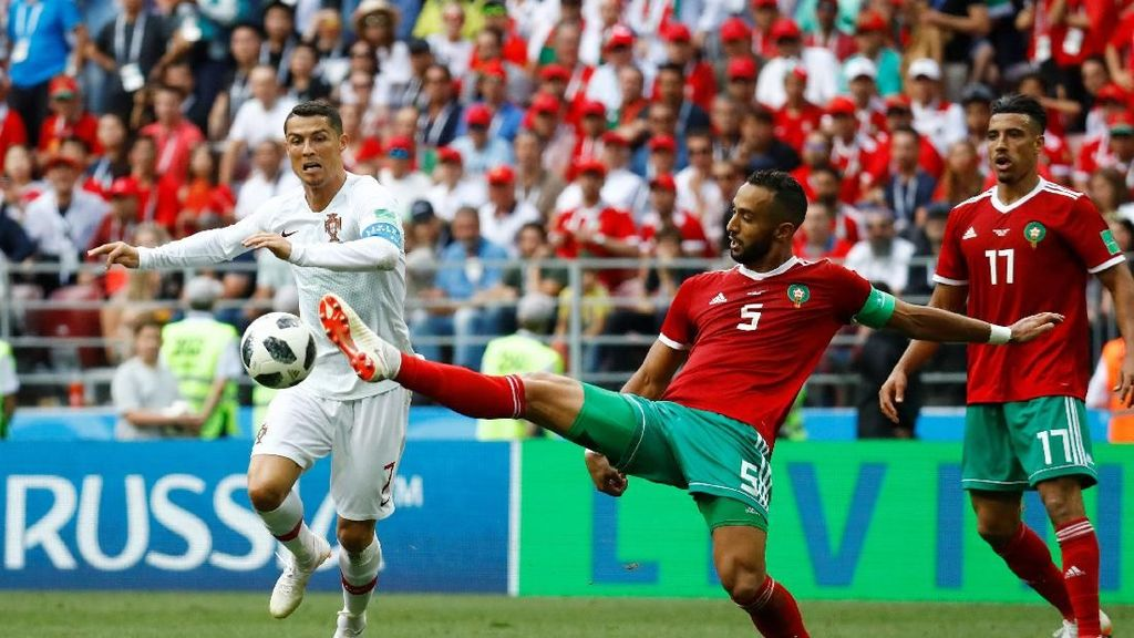 Video Highlights: Portugal vs Maroko 1-0