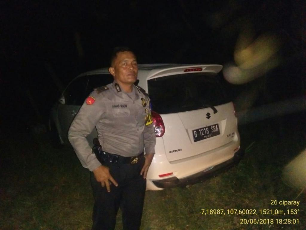Teka-teki Pencuri Mobil Pemudik Berisi Anak di Bandung