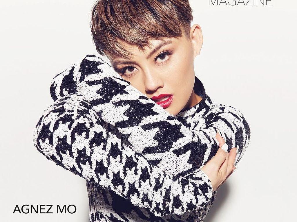 Foto: Agnez Mo Eksis di Cover Majalah Pria Amerika