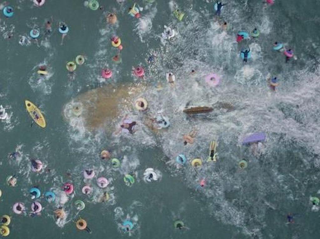 Produksi The Meg Pakai Layar Hijau Berukuran Ratusan Meter
