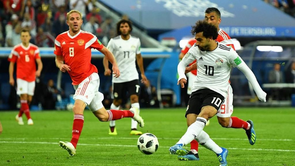 Highlights Full Time Rusia Vs Mesir