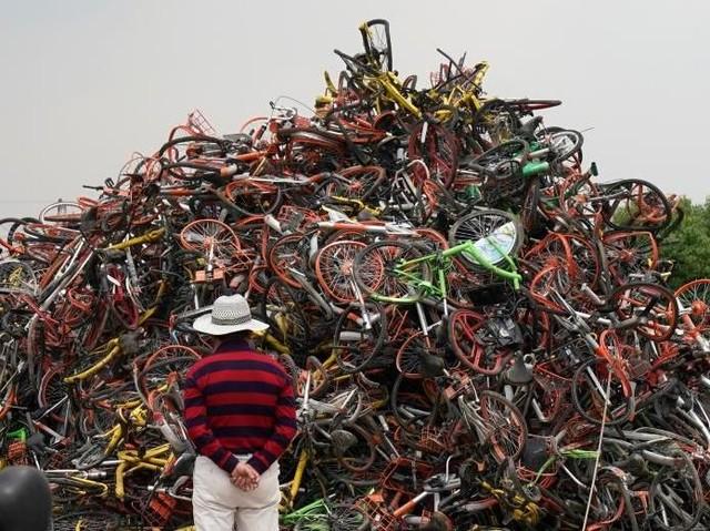 Mengintip 'Pemakaman' Sepeda di China