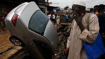 18 Orang Tewas Akibat Banjir Bandang di Pantai Gading