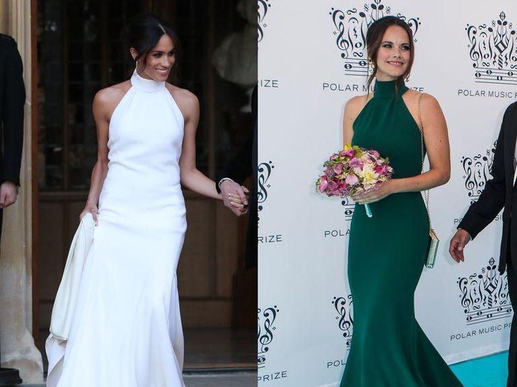Putri Swedia Pakai Gaun Mirip Meghan Markle, Siapa Lebih Cantik?