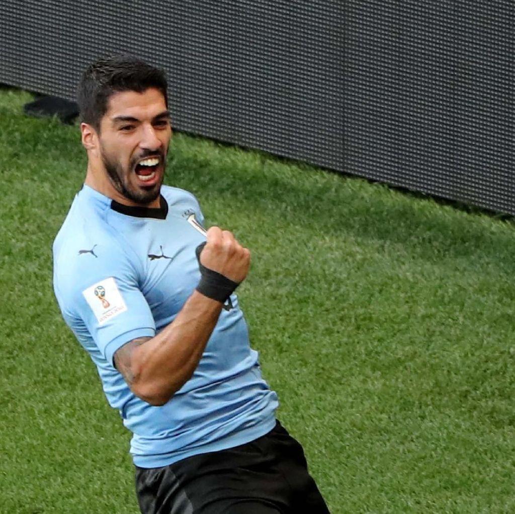 Stuani Puji Suarez, Menyindir Messi?