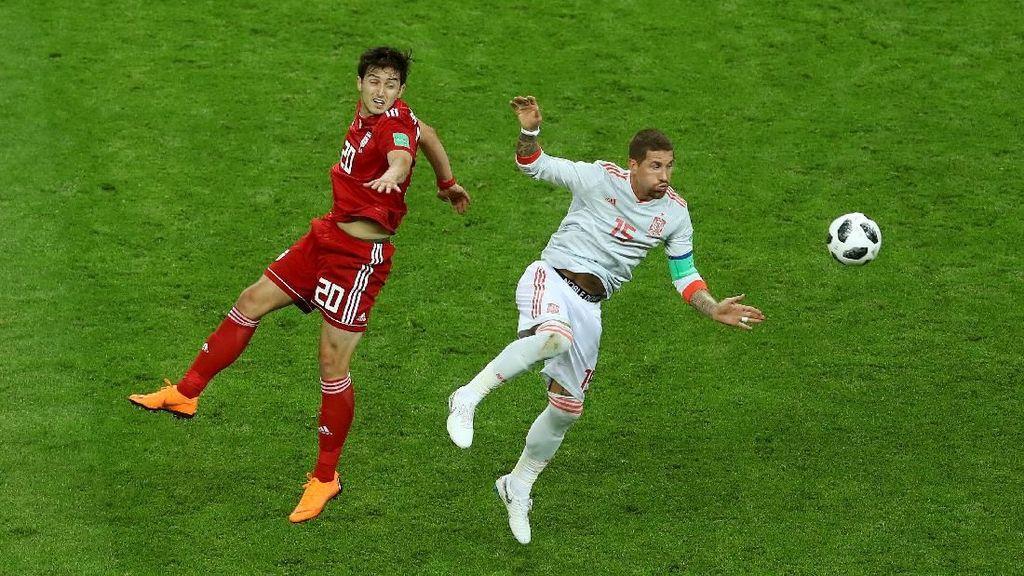 Babak I: Spanyol Ditahan Iran Tanpa Gol