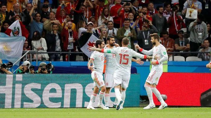 Spanyol akan menghadapi Maroko di laga terakhir Grup B Piala Dunia 2018 (Foto: Reuters)