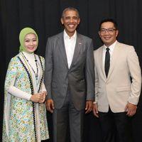 Ini Baju Andalan Istri Ridwan Kamil untuk Blusukan sampai Rapat Kerja