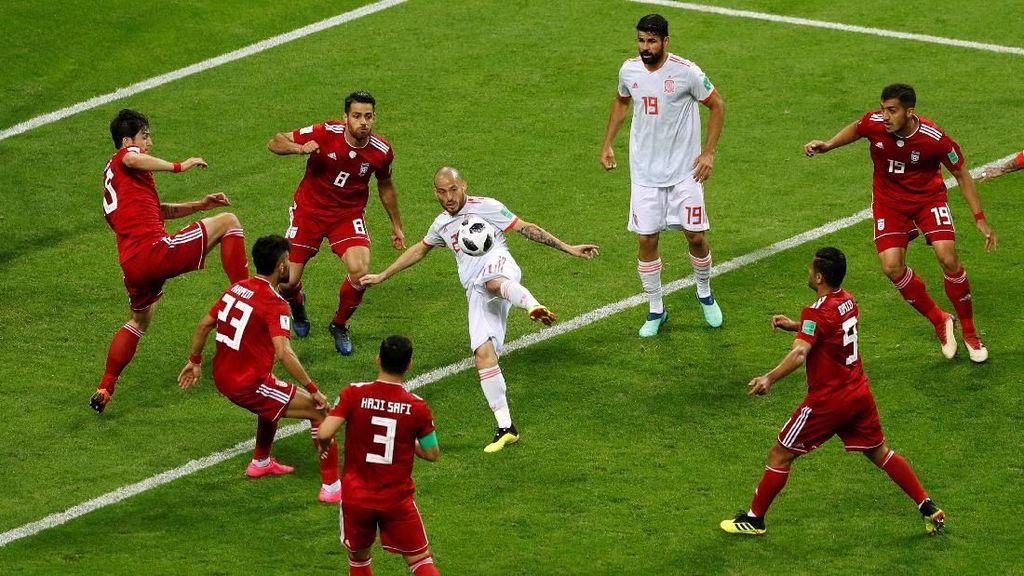 Video Highlights Babak I Iran Vs Spanyol