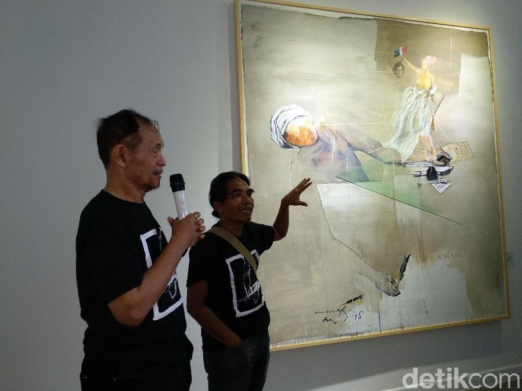 Kolaborasi Hanafi dan Goenawan Mohamad di 57 x 76 Bersifat Terbuka