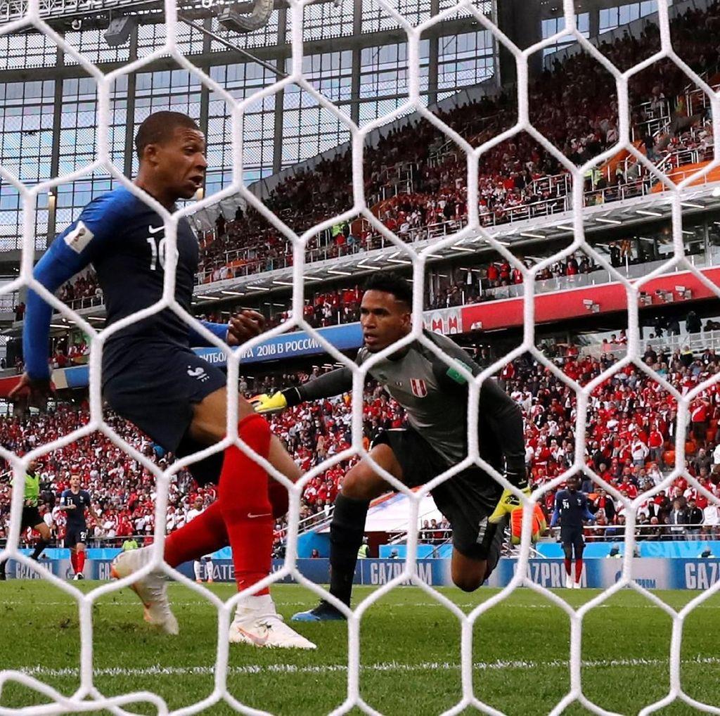 Hasil Pertandingan Piala Dunia 2018: Prancis vs Peru Skor 1-0