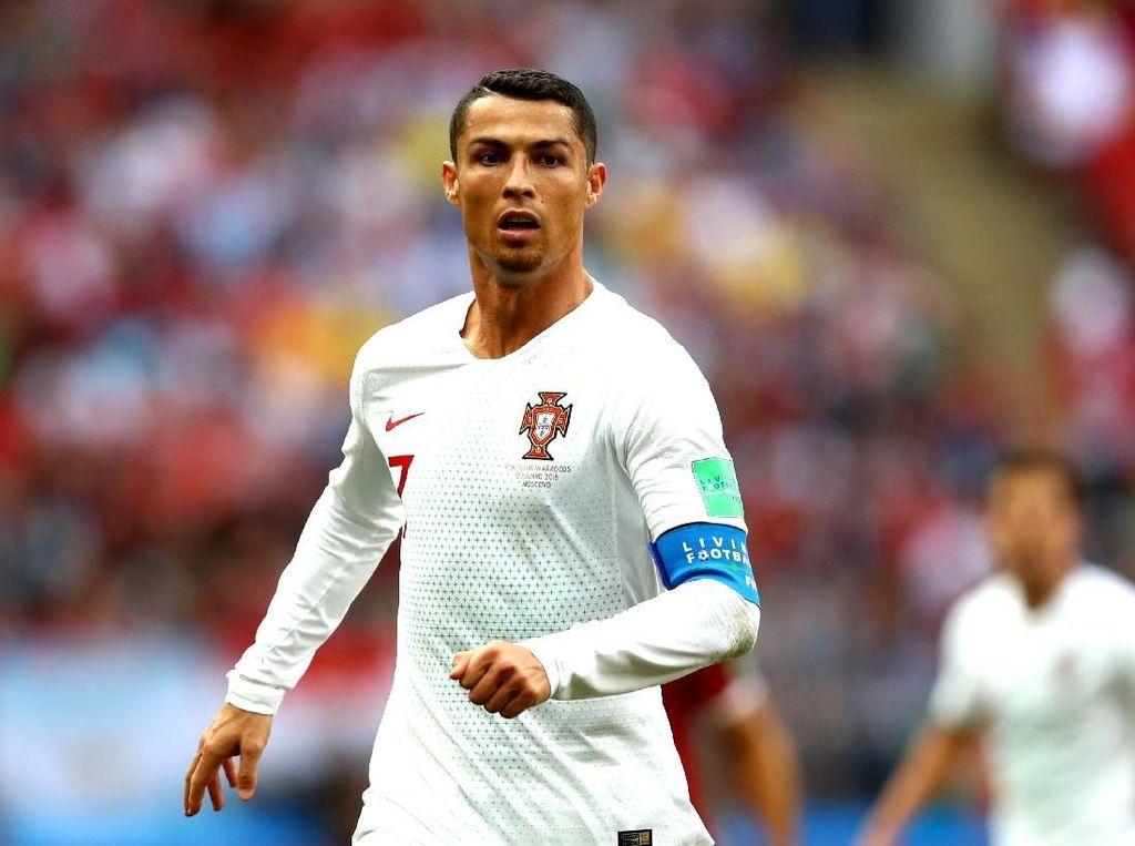 Cristiano Ronaldo dan Deretan Bintang Piala Dunia Ganteng dengan Jenggot
