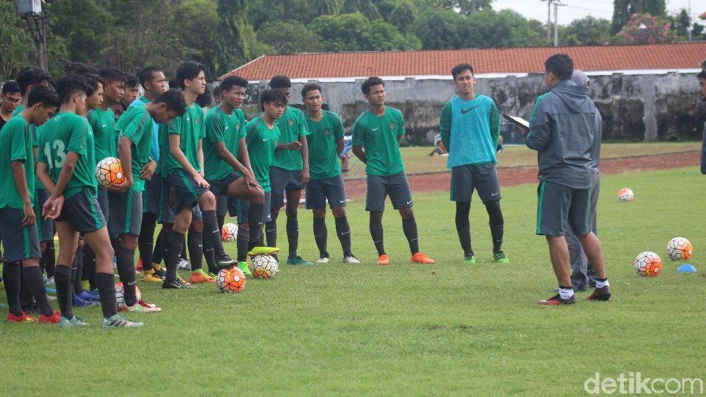 Jelang Piala AFF dan Piala Asia, Timnas U-16 Digodok di Sidoarjo