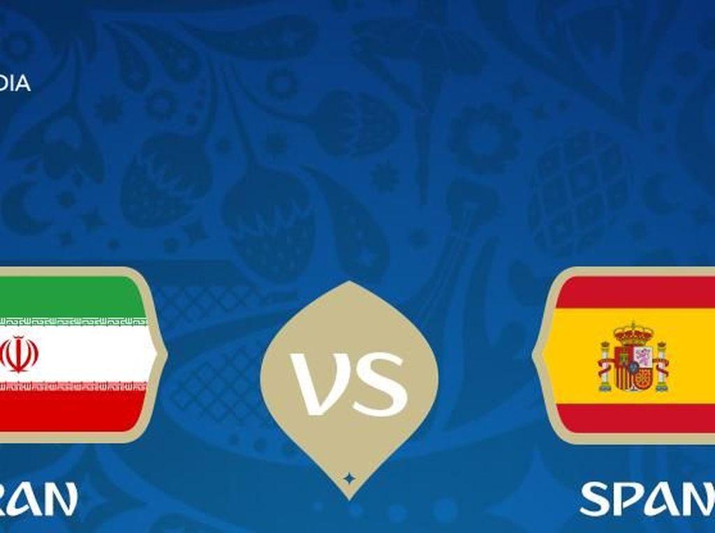 Live Report Piala Dunia 2018: Iran vs Spanyol
