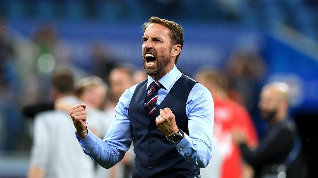 Gareth Southgate Dislokasi Bahu, Sergio Ramos Dibawa-bawa