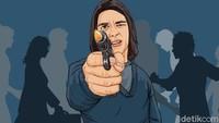 Ustaz di Pinang Kota Tangerang Ditembak Orang Tak Dikenal