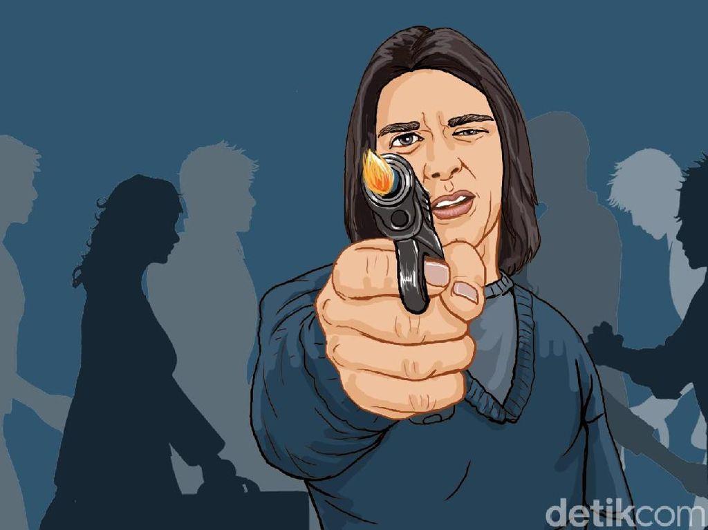 Tak Cuma Todongkan Pistol, Brigadir AF di Sulsel Juga Hina Pangkat Kapolsek