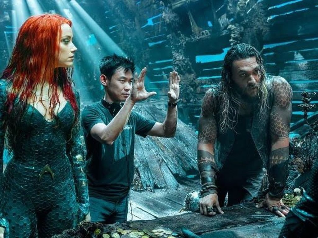 Alasan Warner Bros Gandeng James Wan Sutradarai Aquaman