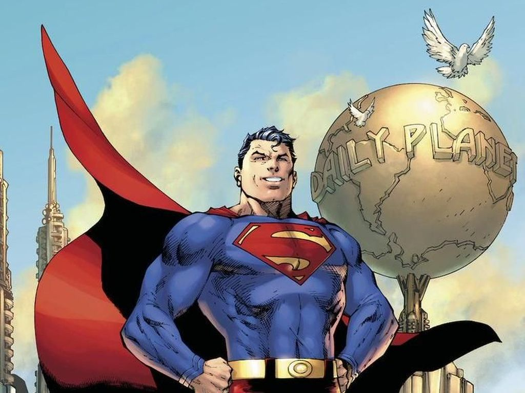 Video: DC Comics Kalah, Superman Milik Orang Indonesia
