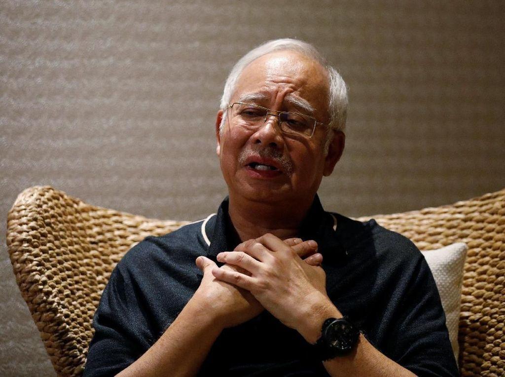 Najib Razak Ditangkap, Akan Didakwa Terkait Transfer Dana 1MDB
