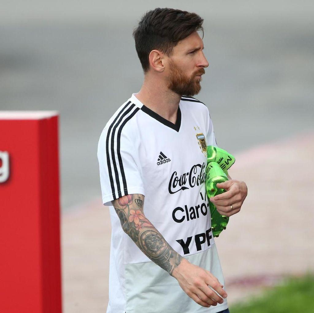 Bisa Jebol Gawang Kroasia Lagi, Messi?