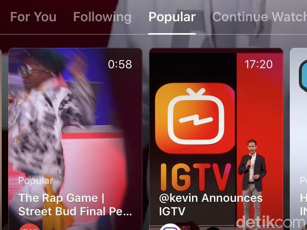 IGTV Akan Masuk ke Timeline Instagram