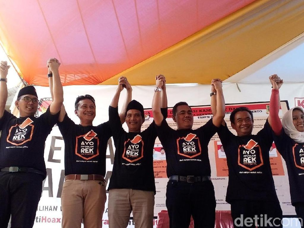 Debat Terakhir Pilwali Mojokerto Digelar di Surabaya, Ini Alasannya