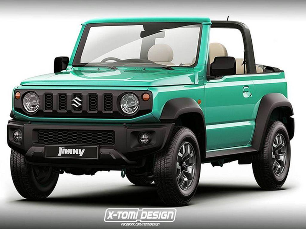 Begini Jadinya kalau Suzuki Jimny Terbaru Dibikin Tanpa Atap