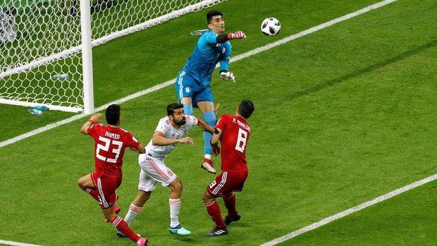 Iran gagal meraih kemenangan di pertandingan kedua di Piala Dunia 2018.