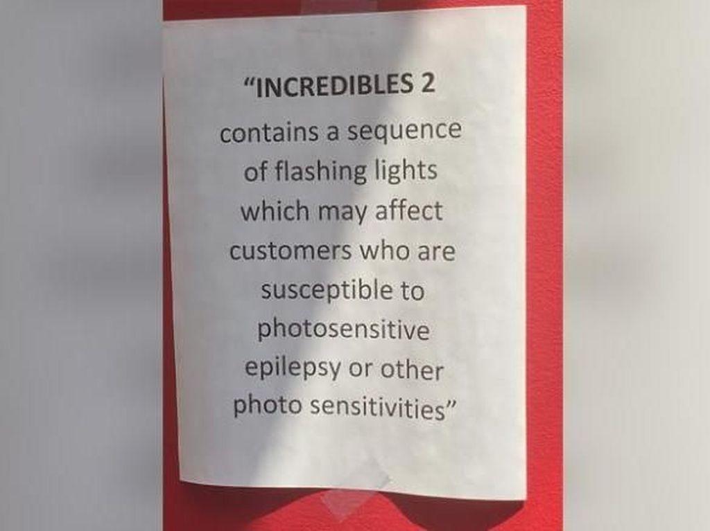 Diperingatkan di Film The Incredibles 2, Ini Fakta-fakta Epilepsi (1)