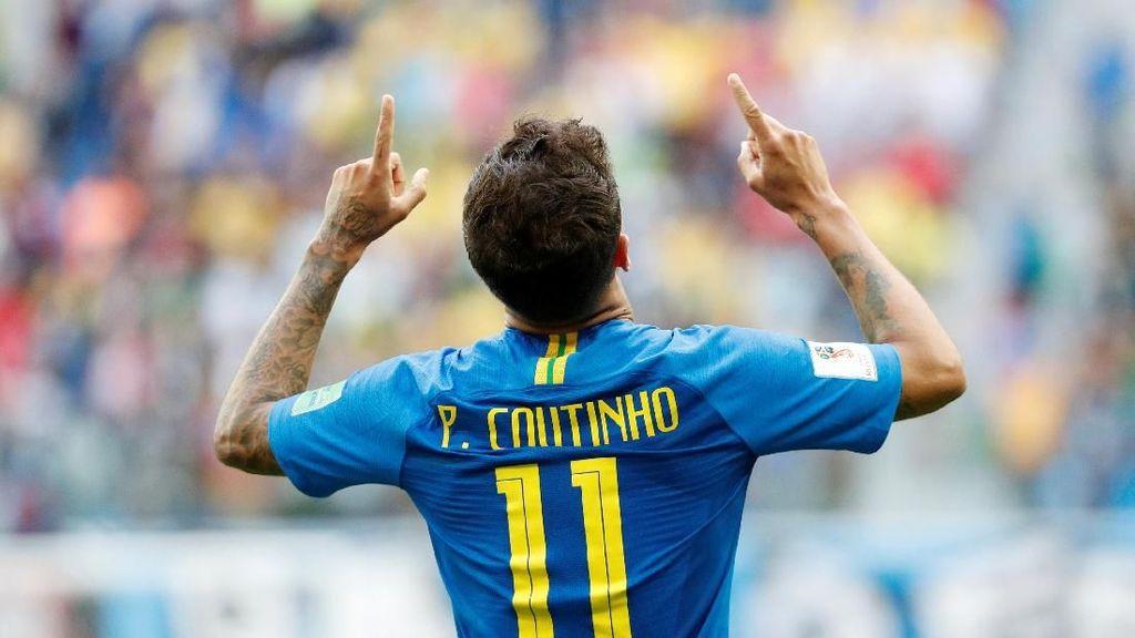 Philippe Coutinho Si Pemecah Kebuntuan Brasil