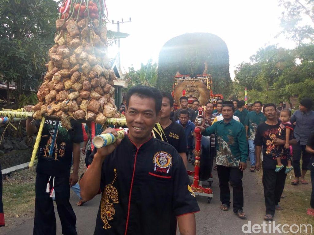 Ini Kemeriahan Festival Ketupat yang Digelar Warga Ponorogo