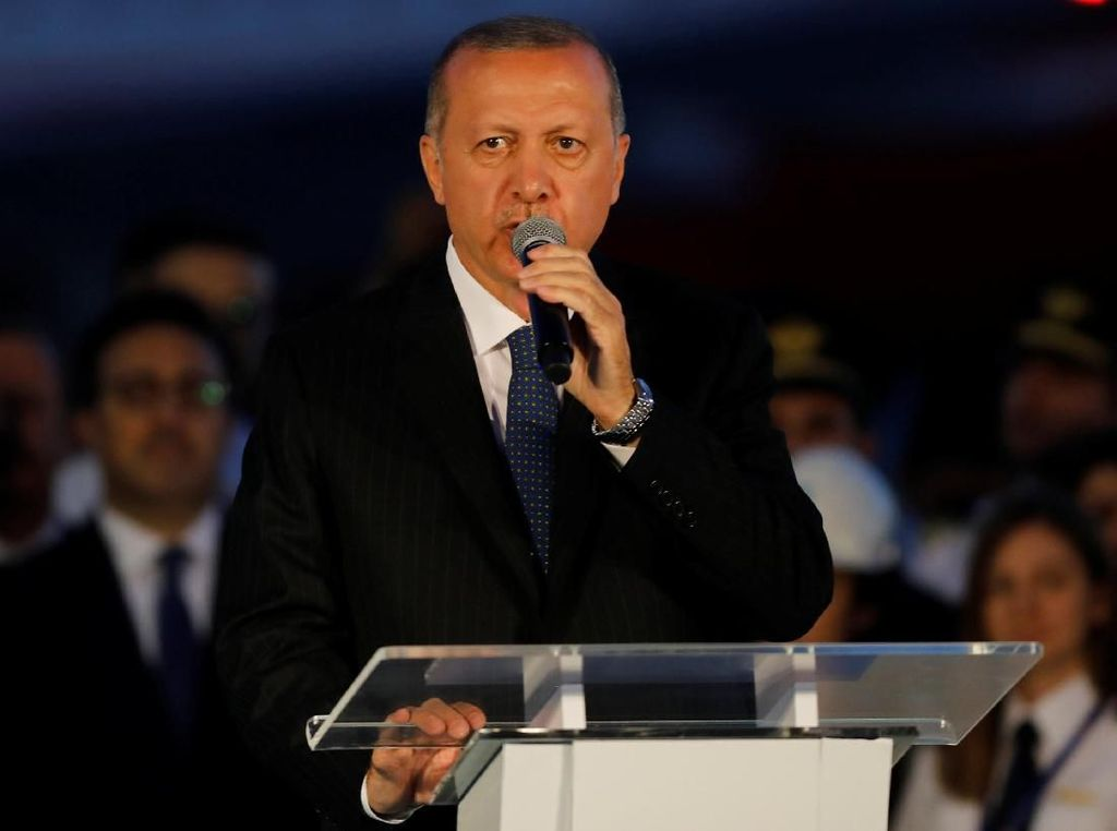 Erdogan Minta Saudi Ekstradisi 18 Tersangka Pembunuhan Khashoggi