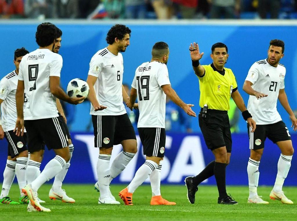 Kecewa dengan Wasit, Mesir Akan Protes ke FIFA