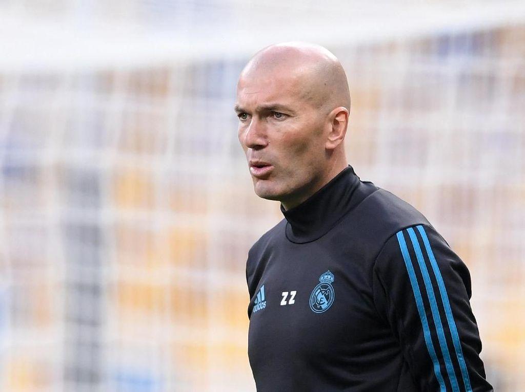 Resmi! Zidane Balik ke Real Madrid