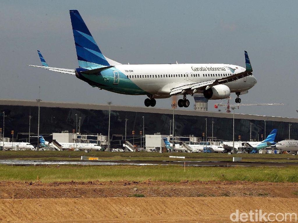 Selama Lebaran, Tingkat Ketepatan Waktu Penerbangan Mencapai 78,12%