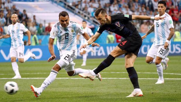 Ivan Perisic sudah mencetak dua gol di Piala Dunia 2018.