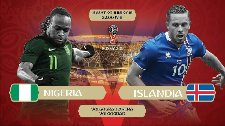 Data dan Fakta Nigeria vs Islandia, Laga yang Ikut Menentukan Nasib Argentina