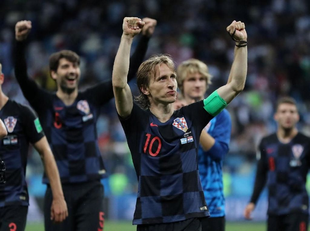 Tekanan Suporter Rusia Takkan Bikin Kroasia Keder