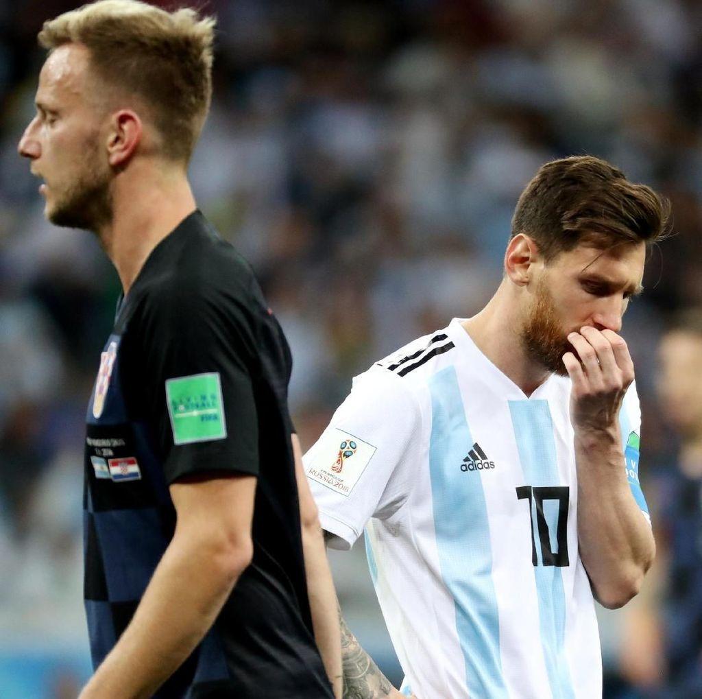 Messi Sudah Enam Laga Tanpa Gol di Babak Utama Piala Dunia