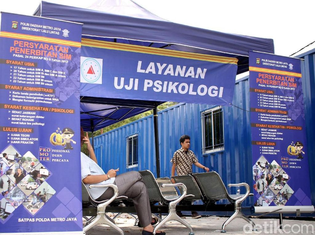 Intip Proses Uji Psikologi SIM