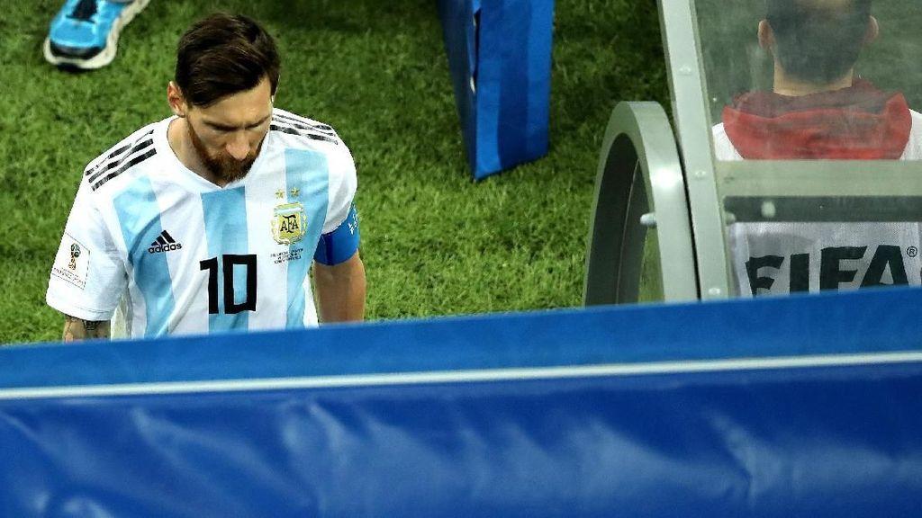 Diduga Suara Simeone: Kritik Messi dan Tak Adanya Pemimpin di Argentina